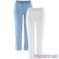 7/8-stretchbyxa (2-pack)                               vit + blue bleached                      vSqRFyKRVw