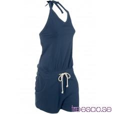 Jumpsuit, kort mörkblå elQ9eEb9ll