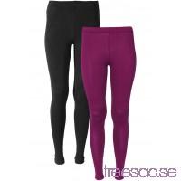 Nytt Leggings (2-pack) bärröd/svart APSMMm8Gl2