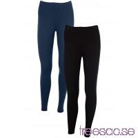 Nytt Leggings (2-pack)                               mörkblå/svart                      Iuey2Ws9Fn