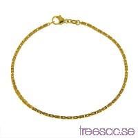 Armband kejsarlänk 21 cm i 18k guld                          t65NwWYfrB
