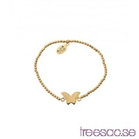 Bud To Rose Armband Butterfly Gold                          EX5n20e1Di