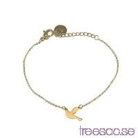 Edblad Armband Dove Gold 15,5-18,5 cm                          ACkQQZDIGS