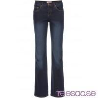 Nytt Bestsäljande, figurformande stretchjeans, raka ben mörkblå                              mörkblå                      gAocL4s55T