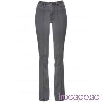 Nytt Bootcut-jeans med pressveck grey denim grey denim lddKFv1evM