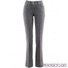 Nytt Bootcutjeans med pressveck grey denim grey denim iHsi2nCAbH