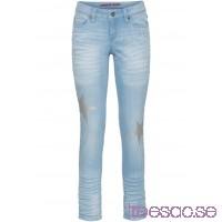 Nytt Skinny jeans med stenar blue bleached blue bleached kOtpLDVfCr