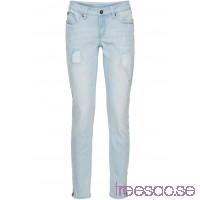 Nytt Stuprörsjeans med dragkedjor light blue bleached light blue bleached raHmaXvbyI