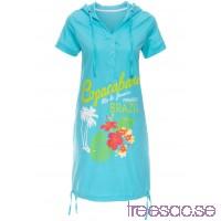 Nytt Strandklänning 92 cm, Kort aqua N9mOsls4Rd