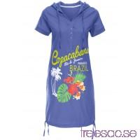 Nytt Strandklänning 92 cm, Kort                              blålila                      Ruu7Lecq8D