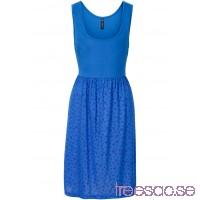 Nytt Trikåklänning 86 cm, Kort blå/royalblå, mönstrad 7Dod8AZvkZ