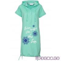 Nytt Trikåklänning 92 cm, Kort mentolblå c0b5lD6LbA