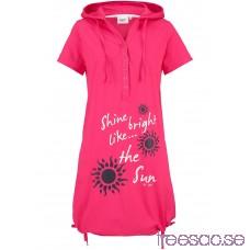 Nytt Trikåklänning 92 cm, Kort mörkrosa PC0fvwYUfH