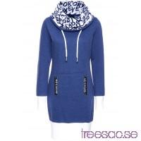 Nytt Trikåklänning, långärmad 92 cm, Kort                              midnattsblå                      heuqFf7kuq