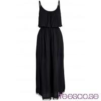 Nytt Volangklänning 132 cm, Lång svart a2SwUEERbX