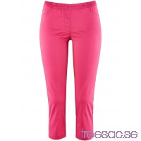 Nytt 3/4-treggings i stretch pink hobebeGNni