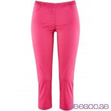 Nytt 3/4-treggings i stretch pink hobebeGNni