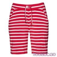 Nytt Bermudashorts i trikå röda, randiga 6s0WsvDP7c