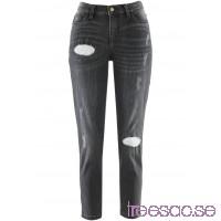 Nytt Girlfriend-jeans, 7/8-längd - i design av Maite Kelly grey denim                              grey denim                      UfzmcS4Zz2