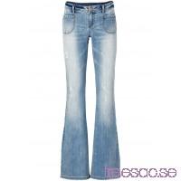 Nytt Jeans, bootcutmodell blue stone                              blue stone                      9KilYj8x7q