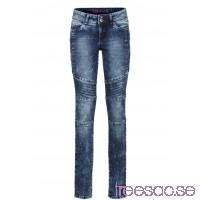 Nytt Skinny jeans med delningssömmar dark denim dark denim NrE6O1DJ2M