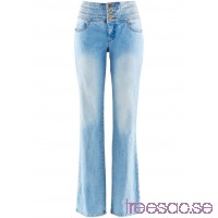 Nytt Stretchjeans Platt mage-bootcut blue bleached used blue bleached used HKsH6rEAII