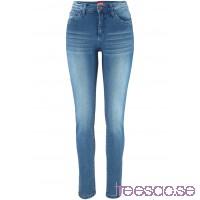 Nytt Superstretchiga jeans med figurformande effekt, smal passform   CQ4y2zQuiP