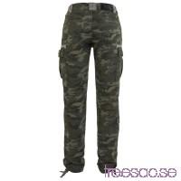 Byxor, dam: Vintage Camo Pants från Black Premium QgrAMURYJq