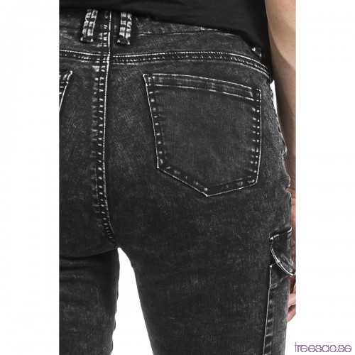 3d92b1a2379f Jeans, dam: Cargo Jeans från Forplay njOB4pM4kp