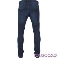 Jeans: Slim Fit Knee Cut Denim Pants från Urban Classics yX86BJblse
