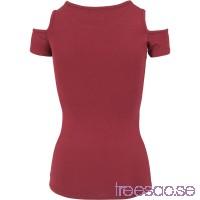 Ladies Slashed Shoulder Tee från Urban Classics GMOtWwLK9l
