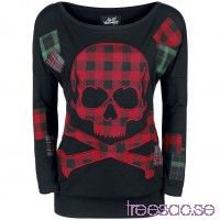 Skull Patch Longsleeve från Full Volume lNr6bzZvR7