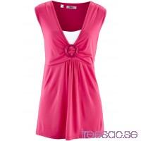 Nytt 2-i-1-linne 70 cm mörk pink bmLyvELrQm