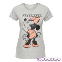 Nytt T-shirt Mimmi Pigg 60 cm gråmelerad, med tryck I94V6r0sjR