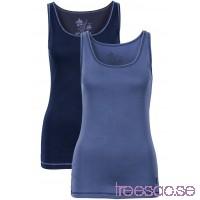 Nytt Dubbelpack linnen 66 cm                              mörkblå/indigoblå                      P0uXbHadyf
