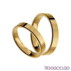 Förlovningsring 14k guld, rak 3,5 mm x 1,4 mm IcF6OiPf4A