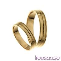 Förlovningsring 14k guld, rak 4 mm - Peridot                          9hUOv5V6yK