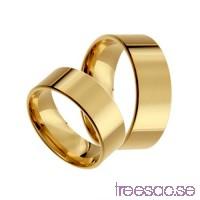 Förlovningsring 14k guld, rak 7 mm x 1,4 mm                          ENgWtNNuBG