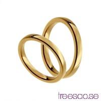 Förlovningsring 18k guld, kupad 2,5 mm x 1,9 mm                          1lnVkbFkZ0