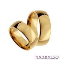 Förlovningsring 18k guld, kupad 7 mm x 1,9 mm                          iOjBCvIKbz