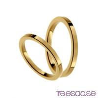 Förlovningsring 18k guld, rak 2 mm x 1,9 mm                          Mg1BfP6Hwp