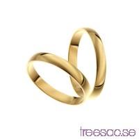 Förlovningsring 9k guld, kupad 3 mm - Selected                          8z5Ps22O85