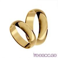 Förlovningsring 9k guld, kupad 5 mm x 1,1 mm                          cSFzGD8kFm