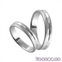 Förlovningsring i silver, rak 4 mm - Frost - Beryl                          EdTC4wW8iu