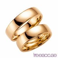 Förlovningsring Schalins 210-6 14k roséguld kl87K7luBV