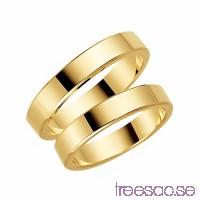 Förlovningsring Schalins 235-4 14k guld F3isMENPPA