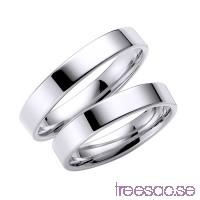 Förlovningsring Schalins 238-4 14k vitguld                          TZY019RyOx