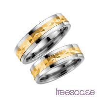 Förlovningsring Schalins 5005-6 9k Guld/Titan                          gUN4ndwtT0