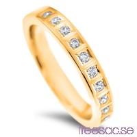 Schalins Venus Vigselring Emma 14k guld, WSI diamanter 0,20 ct                          hXZXWEh5VV