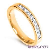 Schalins Venus Vigselring Filippa 18k guld, TWVS diamanter 0,50 ct                          iyOX92TVxb